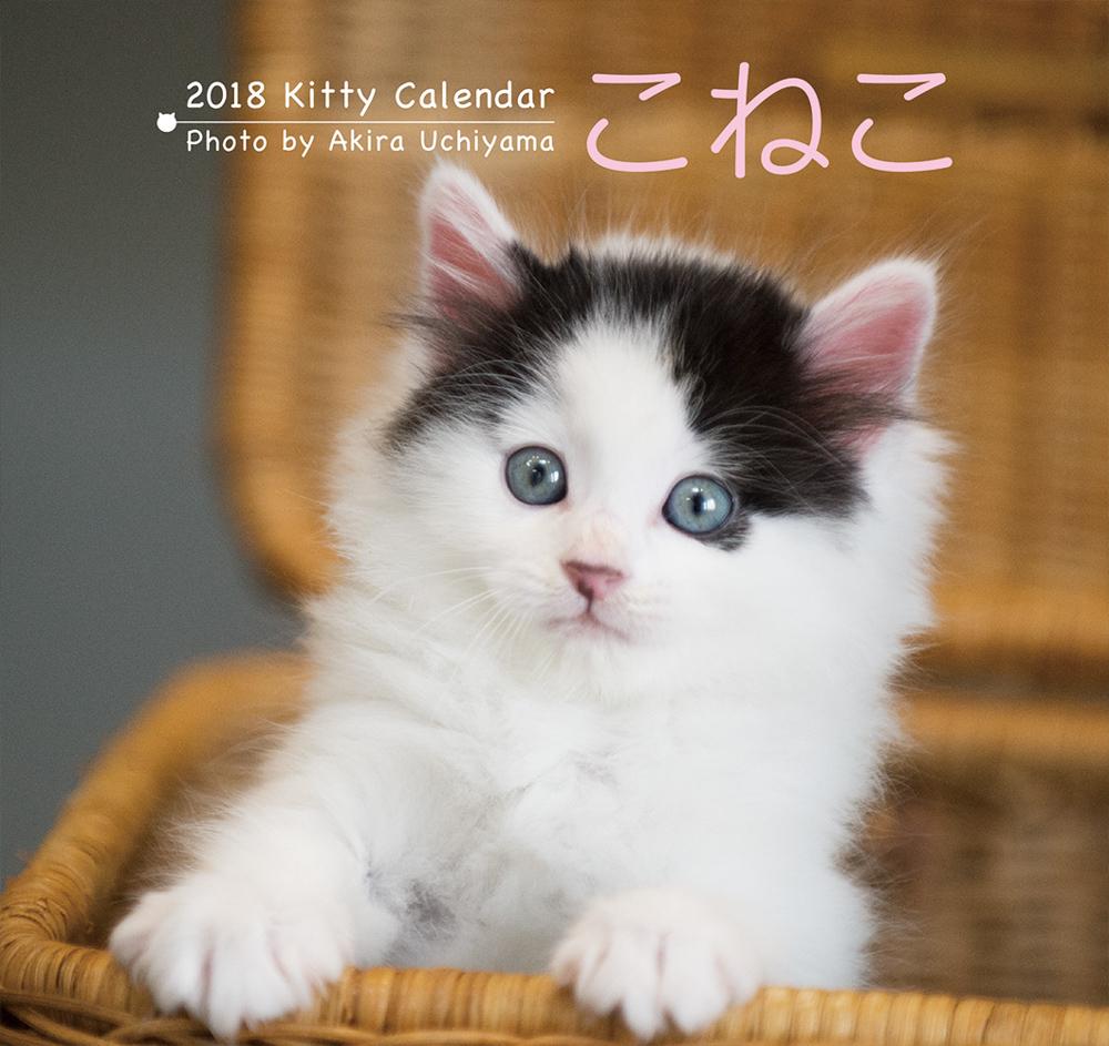 2018 こねこ カレンダー